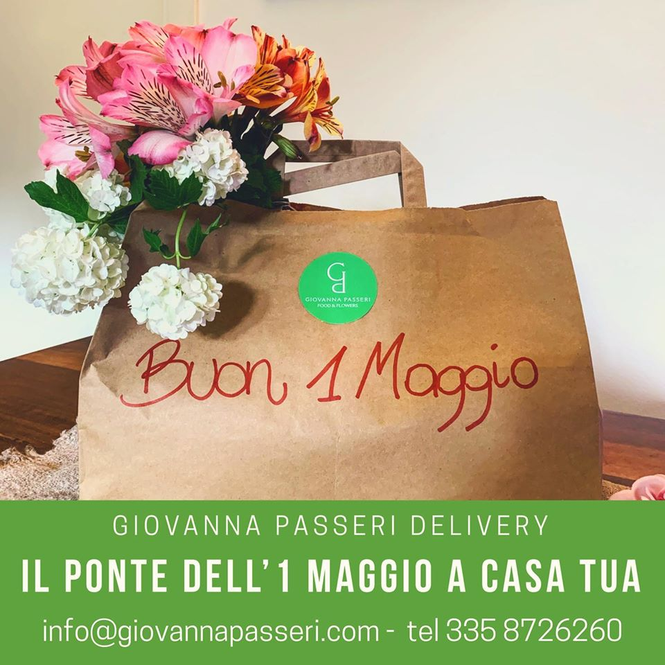 DELIVERY  WEEKEND PRIMO MAGGIO